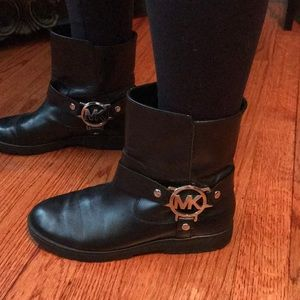 Michael Kors slip on boot worn ONCE